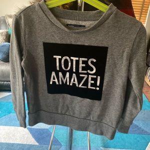 Gap girls sweatshirt with print
